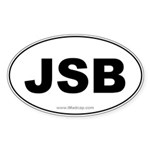 JSB Car Oval Sticker
