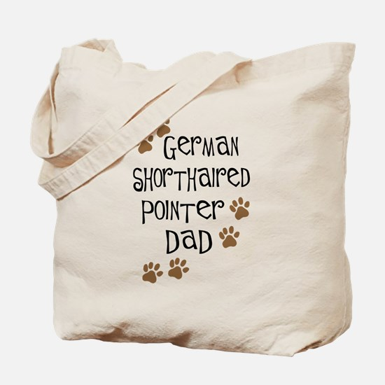 G. Shorthaired Pointer Dad Tote Bag