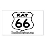 RAT 66 Rectangle Sticker