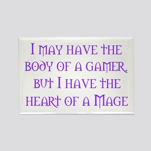Heart of a Mage Rectangle Magnet