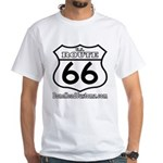US ROUTE 66 White T-Shirt