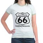 US ROUTE 66 Jr. Ringer T-Shirt