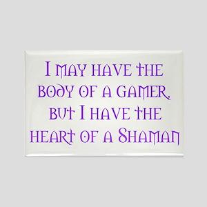 Heart of a Shaman Rectangle Magnet