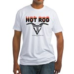 HOT ROD V 8 Fitted T-Shirt