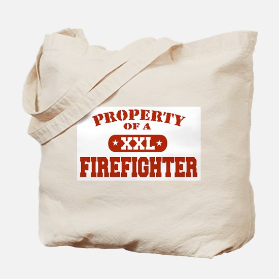 Property of a Firefighter Tote Bag