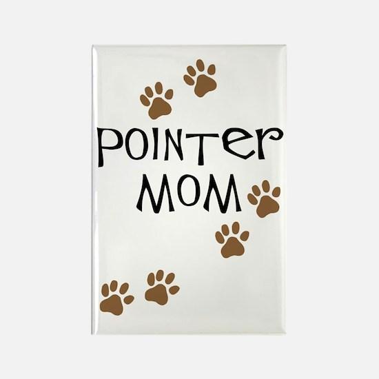 Pointer Mom Rectangle Magnet
