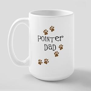 Pointer Dad Large Mug