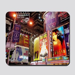 Broadway at Night Mousepad
