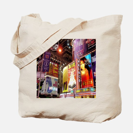 Broadway at Night Tote Bag