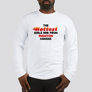 Hot Girls: Dighton, KS Long Sleeve T-Shirt