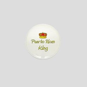 Puerto Rican King Mini Button