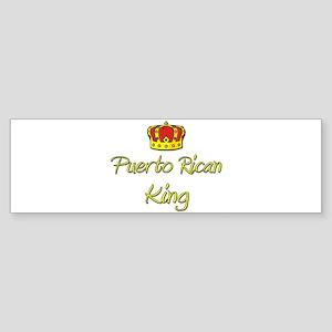 Puerto Rican King Bumper Sticker