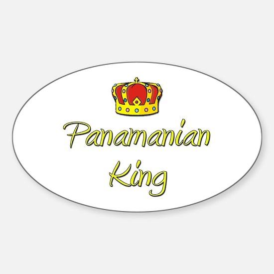 Panamanian King Oval Decal