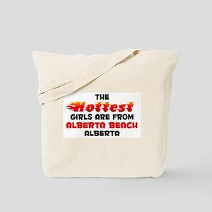 Hot Girls: Alberta Beac, AB Tote Bag