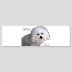 Bichon Mom Bumper Sticker