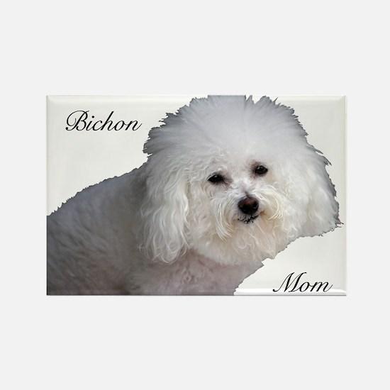 Bichon Mom Rectangle Magnet