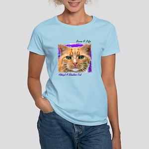 Save a Life - Adopt a Shelter Women's Light T-Shir