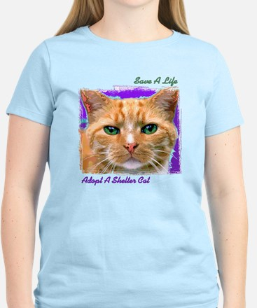 Save a Life - Adopt a Shelter Women's Light T-Shir