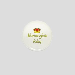 Norwegian King Mini Button