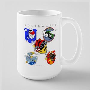 Volkswaffe Unit Emblems Large Mug