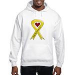 Keep My Airman Safe Ribbon Hooded Sweatshirt