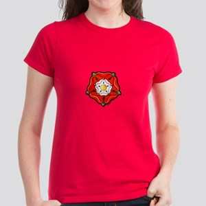 Single Tudor Rose Women's Dark T-Shirt