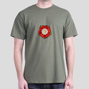 Single Tudor Rose Dark T-Shirt