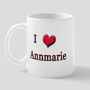 I Love (Heart) Annmarie Mug