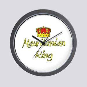 Mauritanian King Wall Clock