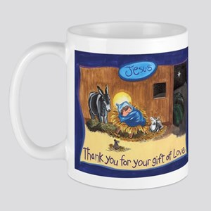 Thank You Baby Jesus Mug