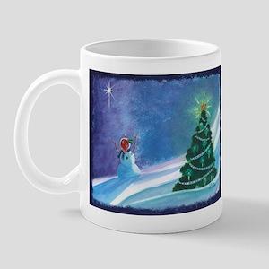Worship Snowman Mug
