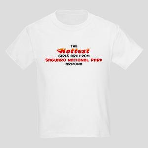 Hot Girls: Saguaro Nati, AZ Kids Light T-Shirt