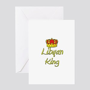 Libyan King Greeting Card