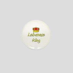 Lebanese King Mini Button