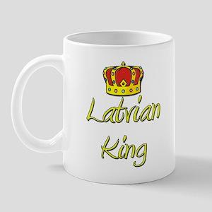 Latvian King Mug