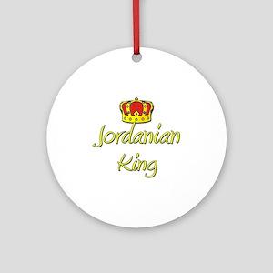 Jordanian King Ornament (Round)