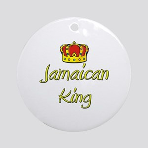 Jamaican King Ornament (Round)