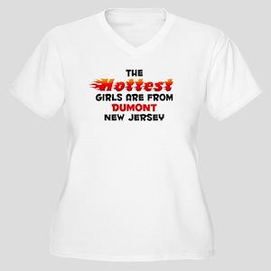 Hot Girls: Dumont, NJ Women's Plus Size V-Neck T-S