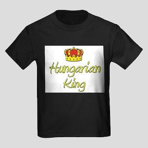 Hungarian King Kids Dark T-Shirt