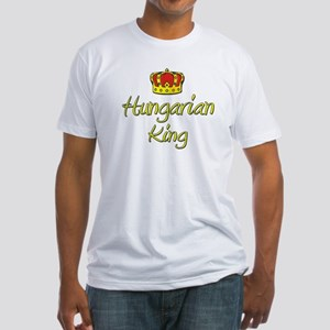 Hungarian King Fitted T-Shirt