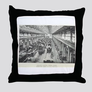 Midland Works Derby Throw Pillow