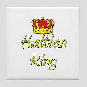 Haitian King Tile Coaster