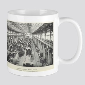 Midland Works Derby Mugs