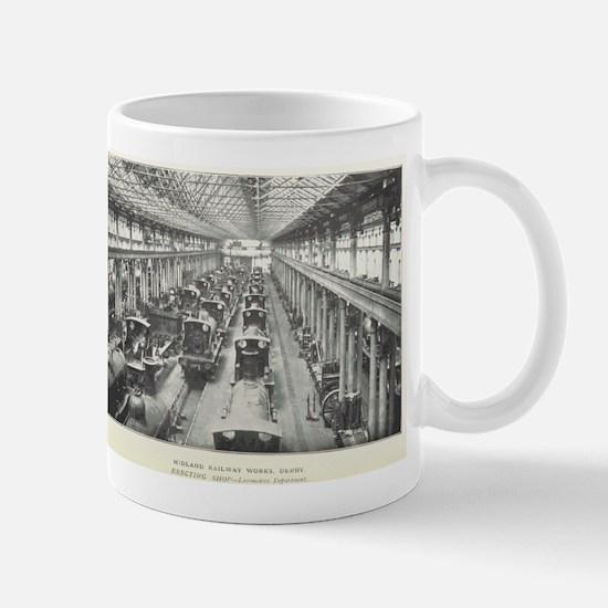Midland Works Derby Mugs
