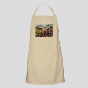 Red Rough Brussels Griffon Apron
