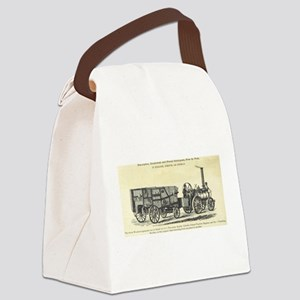 Traction Engine and Finishing Machine Canvas Lunch