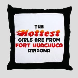 Hot Girls: Fort Huachuc, AZ Throw Pillow