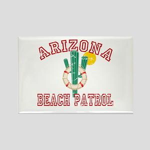 Arizona Beach Patrol Rectangle Magnet