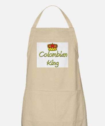 Colombian King BBQ Apron