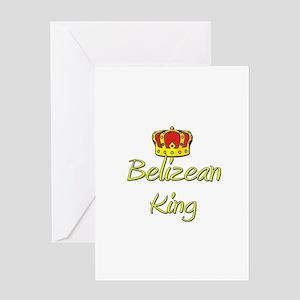 Belizean King Greeting Card